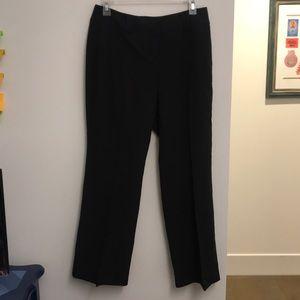 New York & Co. Black and white pin-stripe pants